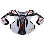 Warrior Burn Hitman 13 Lacrosse Shoulder Pads (White)