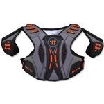 Warrior Burn Hitylte 13 Lacrosse Shoulder Pads (Black)