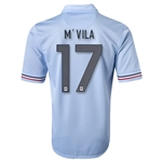 France 2013 M'VILA Away Soccer Jersey