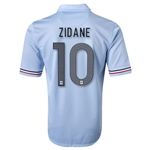 France 2013 ZIDANE Away Soccer Jersey