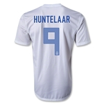 Netherlands 2013 HUNTELAAR Away Soccer Jersey