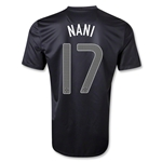 Portugal 2013 NANI Away Soccer Jersey