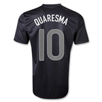 Portugal 2013 QUARESMA Away Soccer Jersey