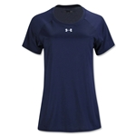 Under Armour Women's Locker T-Shirt (Navy)