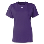 Under Armour Women's Locker T-Shirt (Purple)