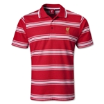 Liverpool Striped Polo (Red)