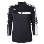 adidas Tiro 13 Women's Training Jacket (Black)