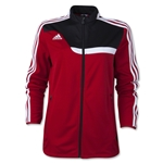 adidas Tiro 13 Women's Training Jacket (Red/Blk)