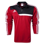 adidas Tiro 13 Training Top (Red/Blk)