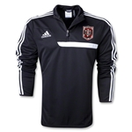 Indiana University Rugby Training Top (Black)