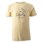 Life is Good Youth Dribble Soccer T-Shirt
