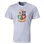 British and Irish Lions Distressed T-Shirt (White)