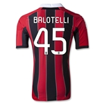 AC Milan 12/13 BALOTELLI Authentic Home Soccer Jersey