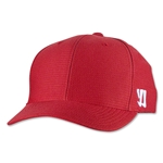 Warrior New Logo Flex Cap (Red)