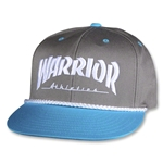 Warrior Athletics Gorra de Futbol (Gris Oscuro)