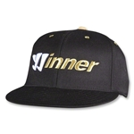 Warrior Winner Gorra de Futbol (negra)