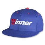 Warrior Winner Gorra de Futbol (azul)