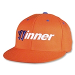 Warrior Winner Gorra de Futbol (naranja)