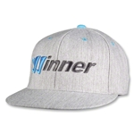 Warrior Winner Gorra de Futbol (gris)
