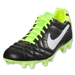 Nike Tiempo Mystic IV FG (Black/Electric Green/White)