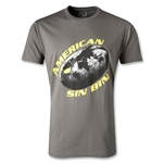 American Sin Bin Rugby World T-Shirt (Gray)