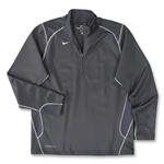 Nike 1/4 Zip Performance Fleece Top (Dk Grey)