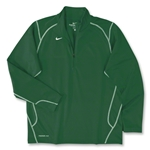 Nike 1/4 Zip Performance Fleece Top (Green)