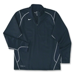 Nike 1/4 Zip Performance Fleece Top (Navy)
