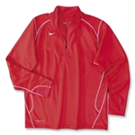 Nike 1/4 Zip Performance Fleece Top (Red)