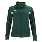 Nike Women's Pasadena II Warm-Up Jacket (Dark Green)
