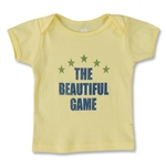 The Beautiful Game infant Soccer T-Shirt (Yellow)