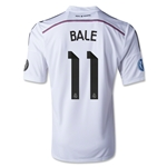 Real Madrid 14/15 BALE UCL Home Soccer Jersey