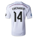 Real Madrid 14/15 CHICHARITO UCL Home Soccer Jersey