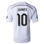 Real Madrid 14/15 JAMES UCL Home Soccer Jersey