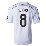 Real Madrid 14/15 KROOS UCL Home Soccer Jersey
