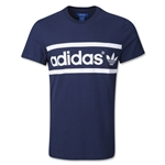 adidas Originals Heritage Logo T-Shirt (Navy/White)