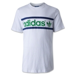 adidas Originals Youth Heritage Logo T-Shirt (Wh/Gr)