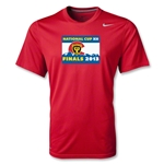 National Cup Finals 2013 Poly T-Shirt (Red)