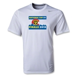 National Cup Finals 2013 Poly T-Shirt (White)