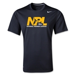 US Club Soccer NPL Poly T-Shirt (Black)