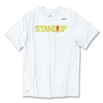 StandUp White Nike Legend Poly Top