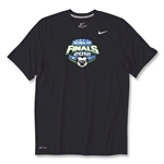 US Club Soccer Final Poly Top (Black)