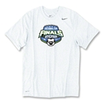 US Club Soccer Final Poly Top (White)