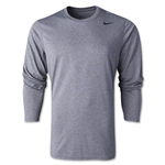 Nike Legend Long Sleeve Poly Top (Dk Grey)
