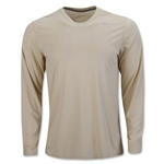 Nike Legend Long Sleeve Poly Top (Vegas Gold)