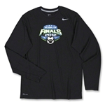 US Club Soccer Final LS Poly Top (Black)