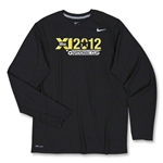 US Club Soccer Regional LS Poly Top (Black)