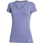 Under Armour Women's Charged Cotton Undeniable T-Shirt (Purple)
