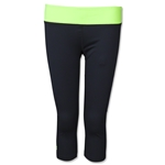 Under Armour Women's Sonic Capri (Bk/Fg)