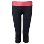 Under Armour Women's Sonic Capri (Black/Pink)